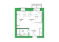 Малахит, дом 6: Планировка 1-комн 30,28 м²