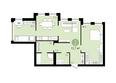 ЕВРОПЕЙСКИЙ БЕРЕГ, дом 28: 2-комнатная 72,7 кв.м