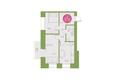 Арбан Smart на Краснодарской, дом 3: 2-комнатная 51,8 кв.м