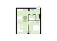 ЕВРОПЕЙСКИЙ БЕРЕГ, дом 25: 1-комнатная 41,3 кв.м