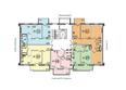 Жилой комплекс ЭВОЛЮЦИЯ, 2 оч, б/с 4-8,9,10: Блок-секция 4-8. Планировка типового этажа