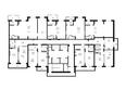 Жилой комплекс VIVANOVA (Виванова): Подъезд 2. Планировка 2 этажа