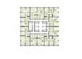 Жилой комплекс ПАНОРАМА, дом 7: Планировка 3-7 этажей