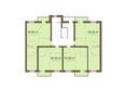 Академгородок, дом 1, корп 1: Корпус 1. Подъезд 4. Планировка типового этажа