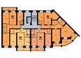Копылова, 19 дом, 2 оч, 1 этап: Планировка 4 подъезд 6-10 этаж
