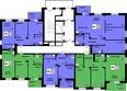 СЕРЕБРЯНЫЙ, квр 1, дом 5, корпус 1: Типовая планировка этажа