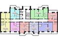 БОГАТЫРСКИЙ ж/к, 5 б/с: Планировка типового этажа