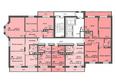 Жилой комплекс СИБИРЯЧКА: Блок-секция 1. Планировка типового этажа