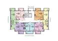 ЭВОЛЮЦИЯ, 2 оч, б/с 4-8,9,10: Блок-секция 4-9. Планировка типового этажа