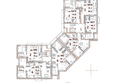 Жилой комплекс Эко-квартал Flora&Fauna (Флора и Фауна), блок А: Планировка 2 этажа