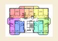 Жилой комплекс МОСТ: Планировка 2 этажа