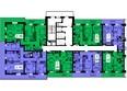 ТИХИЕ ЗОРИ, дом 1 (Красстрой): Блок-секция 1. Этажи 20-25