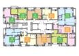 На Покатной: Планировка типового этажа ЖК На Покатной