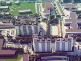 3-комнатная квартира, 62.58  м², 2/17 этаж