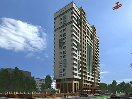1-комнатная квартира, 44.92  м², 2/18 этаж
