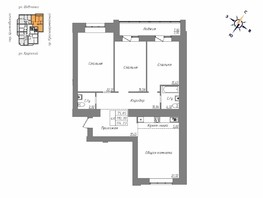 4-комнатная квартира, 114.13  м², 11/16 этаж