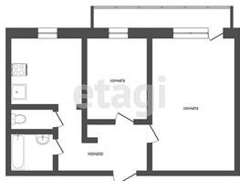 2-комнатная квартира, 47  м², 18/18 этаж