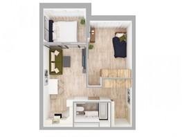 2-комнатная квартира, 52.2  м², 11/15 этаж