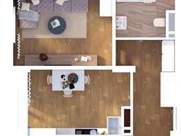 1-комнатная квартира, 39.21  м², 13/24 этаж