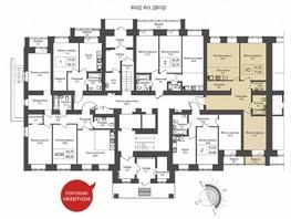 3-комнатная квартира, 71.8  м², 1/10 этаж