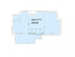 Продается Офис РАСЦВЕТАЙ НА МАРКСА, дом 2.1, 200.86  м², 22094600 рублей