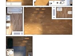 3-комнатная квартира, 69.73  м², 9/24 этаж