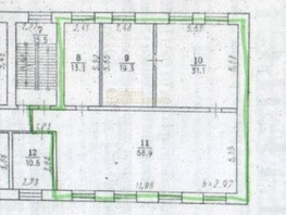Офис, 148  м², 2 этаж, кирпичный