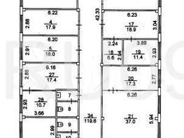 Офис, 800  м², 2 этаж
