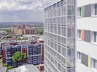 В Иркутске за полгода в эксплуатацию ввели 1 953 квартиры
