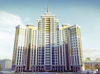 Самым высоким жилым домом Барнаула стал ЖК «Столичный»