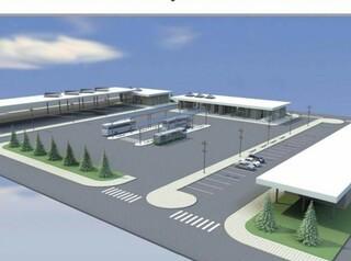 В Ангарске модернизируют здание автостанции