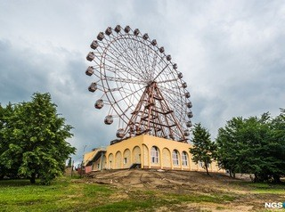 На Михайловской набережной запустили колесо обозрения