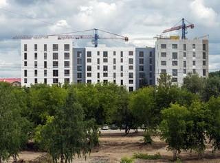 Объем строительства жилья в Новосибирске растет