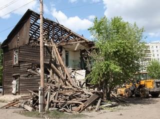В Красноярске благоустроят освободившиеся после сноса аварийных домов площадки