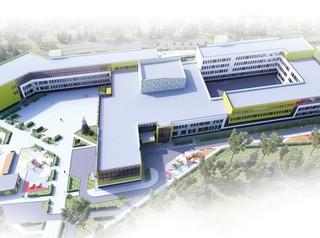 Началось строительство школы на Мясокомбинате