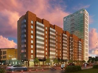 «СибЛидер» начал строить в Октябрьском районе новый жилой комплекс «На высоте»