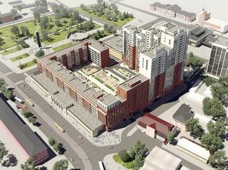 Строительство ЖК «Локомотив» на месте бывшего стадиона перешло в активную фазу