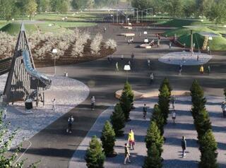 Братский парк Металлургов ждёт масштабная реконструкция