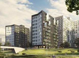 В Иркутске на берегу Ангары строят новый жилой комплекс в скандинавском стиле