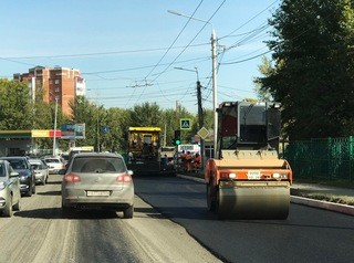 В Красноярске в 2019 году отремонтируют 14 автодорог