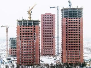 Объемы строительства жилья в Красноярске упали на 26%