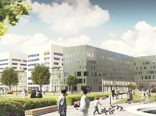 Строительство хирургического корпуса краевой больницы идет по графику