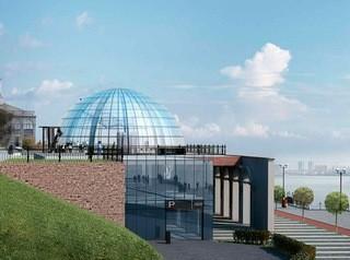 Мэр отклонил проект торгового центра на набережной у Речного вокзала