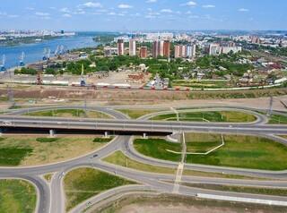 К строительству съезда с четвертого моста в микрорайон Пашенный приступят в 2022 году
