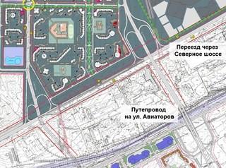 Переезд через Северное шоссе в «Солонцы-2» начнут строить в 2019 году