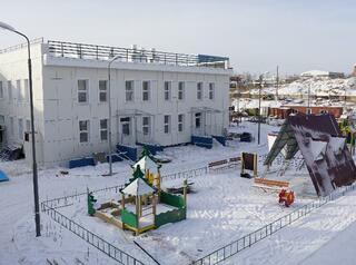 В Иркутске заканчивается возведение самого большого детского сада