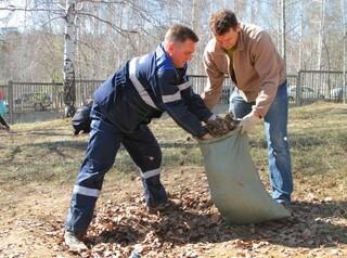В Иркутске на субботниках будут сортировать мусор
