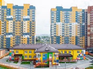 В ЖК «Аквамарин» на улице Междуреченской возвели детский сад