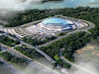 Ледовый дворец в Новосибирске к концу 2020 года построят на 50%
