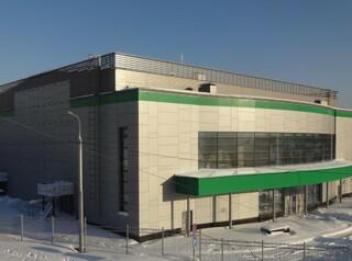 Волейбольный центр в Новосибирске готов на 70 процентов